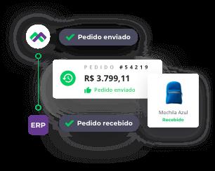 Automação de vendas Mercos.
