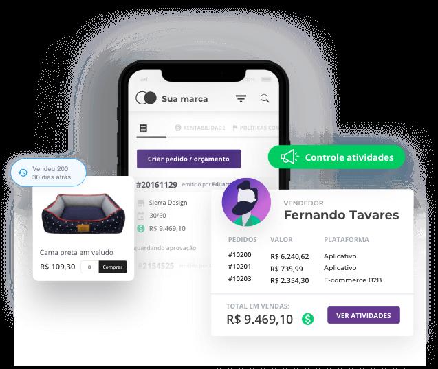App para potencializar e gerenciar vendas da distribuidora