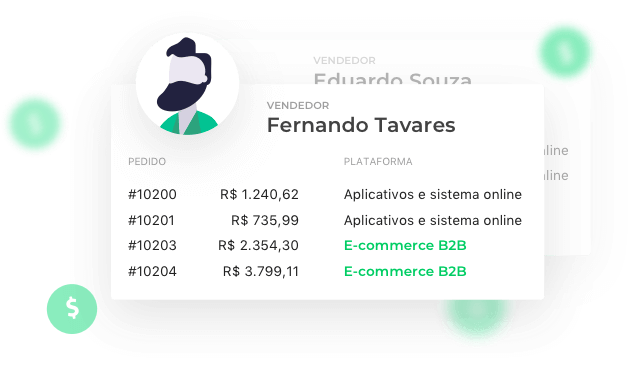 Prévia do software.