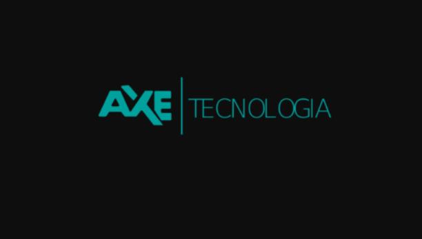 Logo da empresa Áxe Tecnologia.