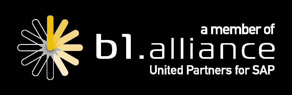 Logo da empresa B1 Alliance.