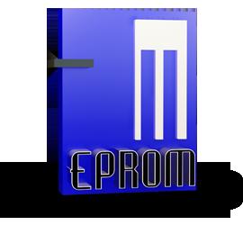 Logo da empresa Eprom Informática.