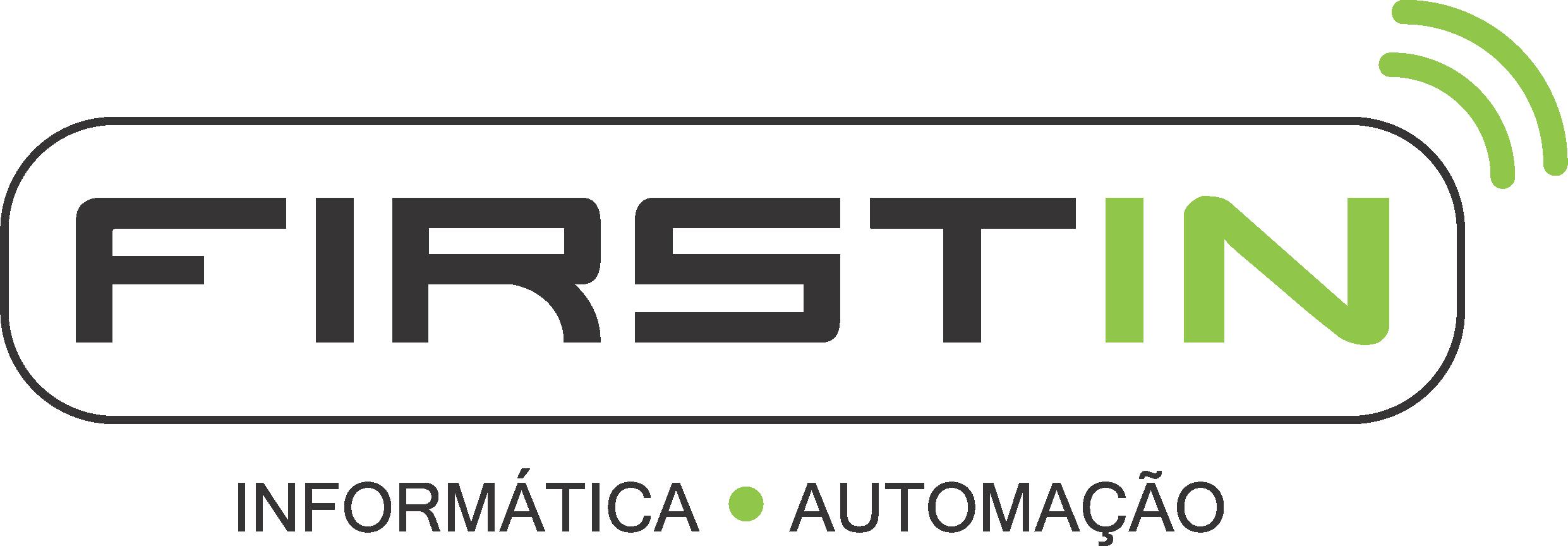 Logo da empresa Firstin Tecnologia em Informática.