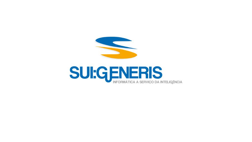 Logo da empresa Sui Generis.