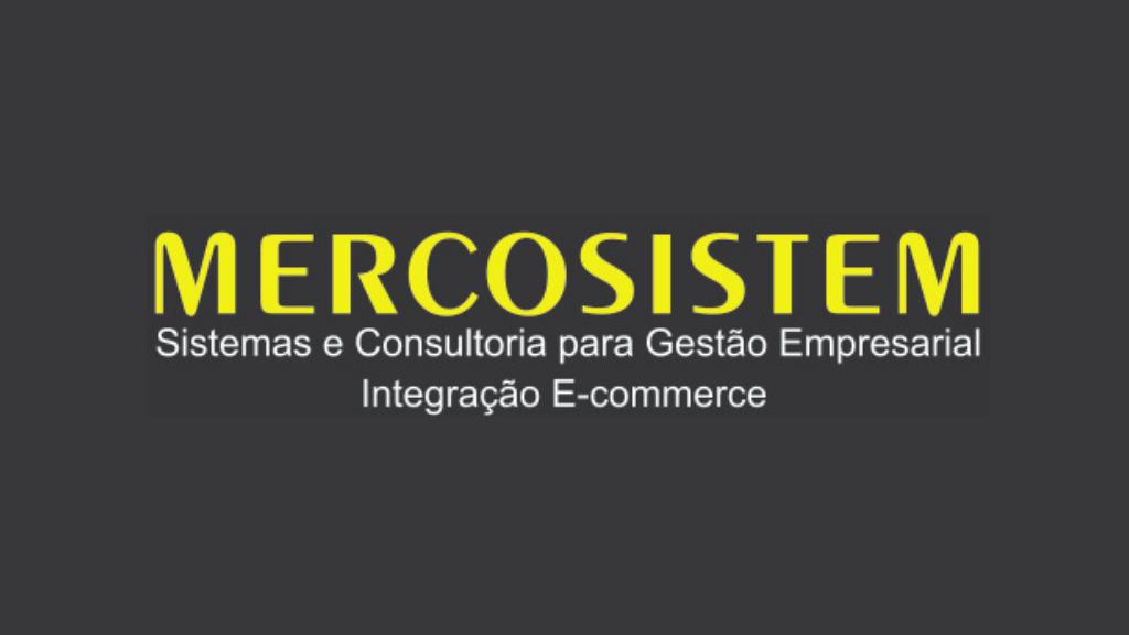 Logo da empresa Mercosistem.