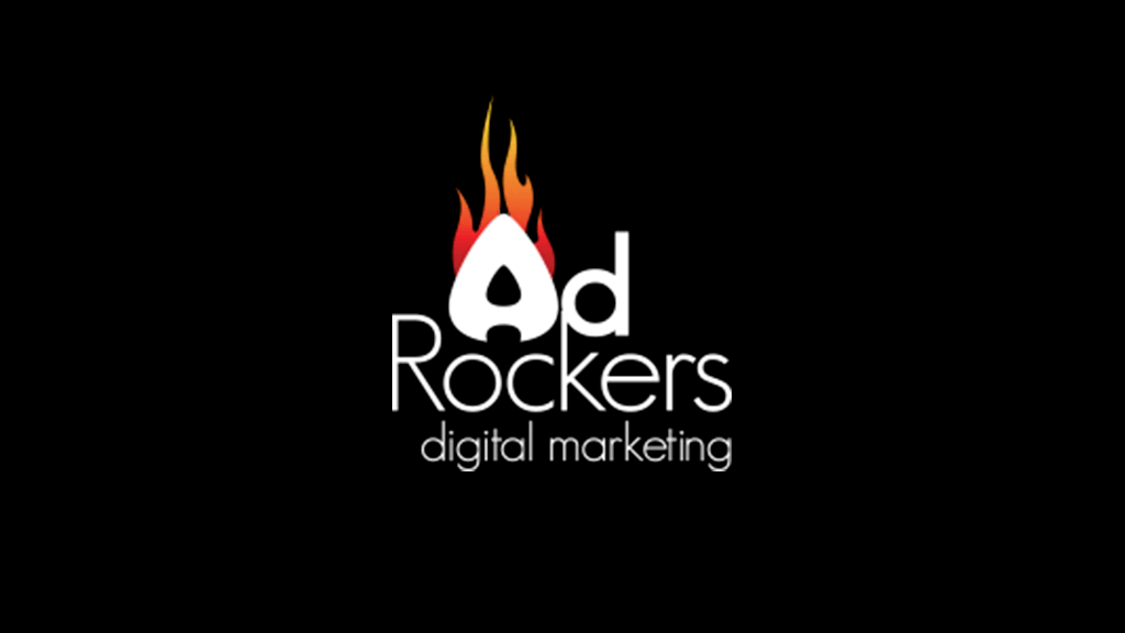Logo da empresa Ad Rockers Digital Marketing.