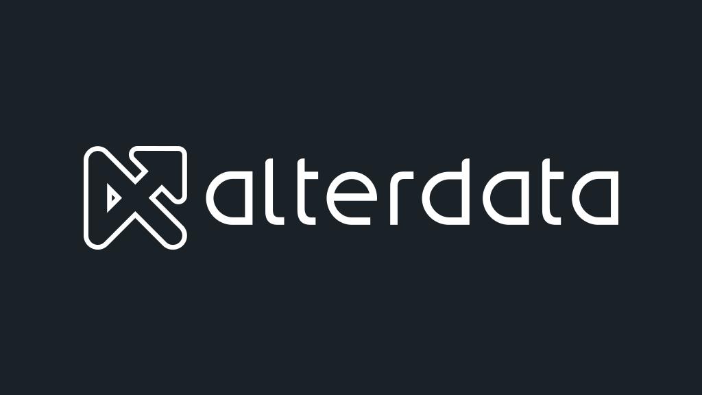 Logo da empresa Alterdata.