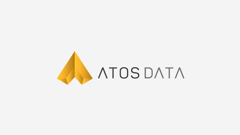 Logo da empresa Atos Data.