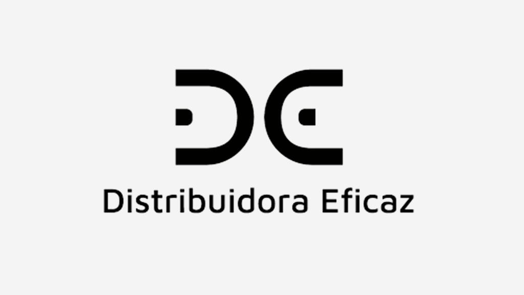 Logo da empresa Distribuidora Eficaz.