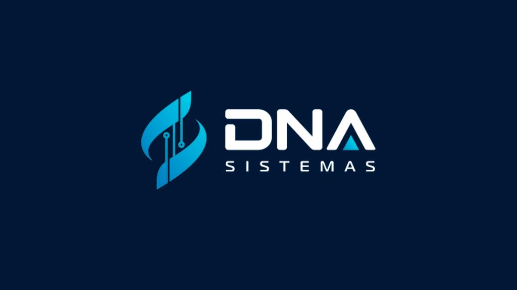Logo da empresa DNA Sistemas.