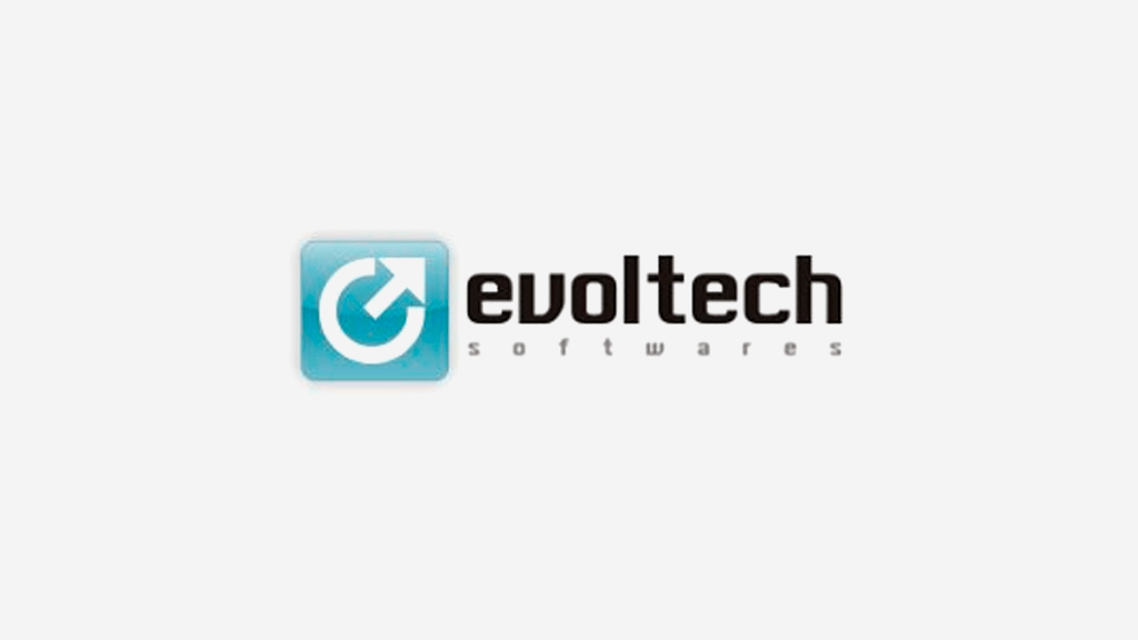 Logo da empresa Evoltech Softwares.
