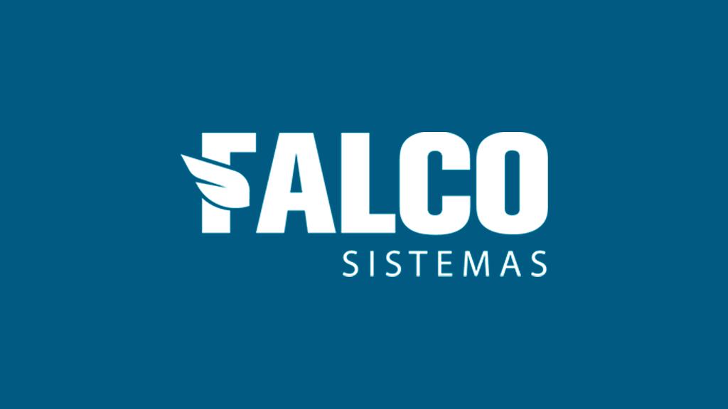 Logo da empresa Falco Sistemas.