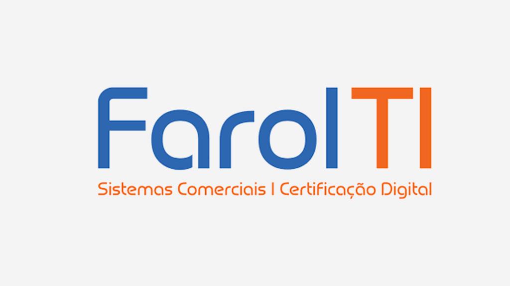 Logo da empresa Farol TI.
