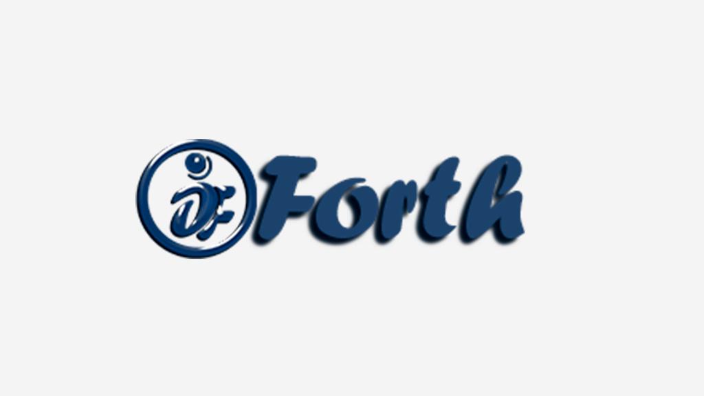Logo da empresa Forth Informática.