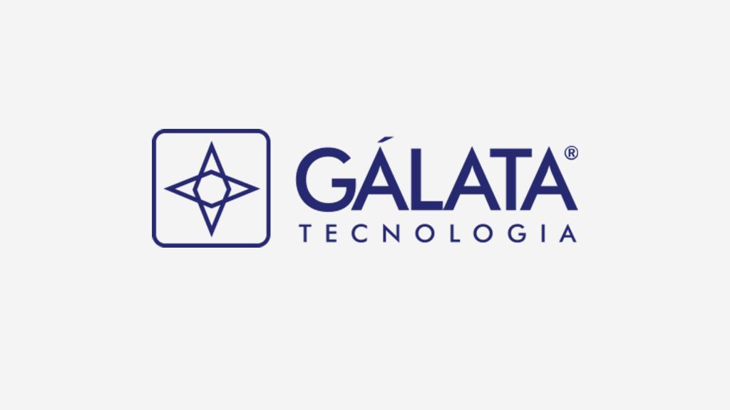 Logo da empresa Gálata Tecnologia.