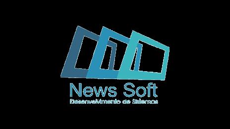 Logo da empresa News Soft.