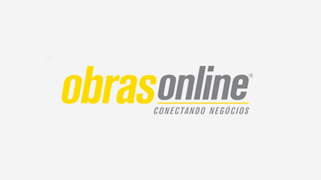 Logo da empresa Obras Online.