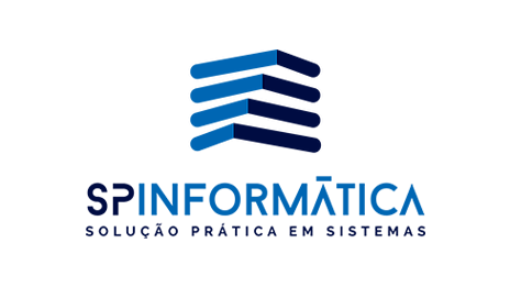 Logo da empresa SP Informática.