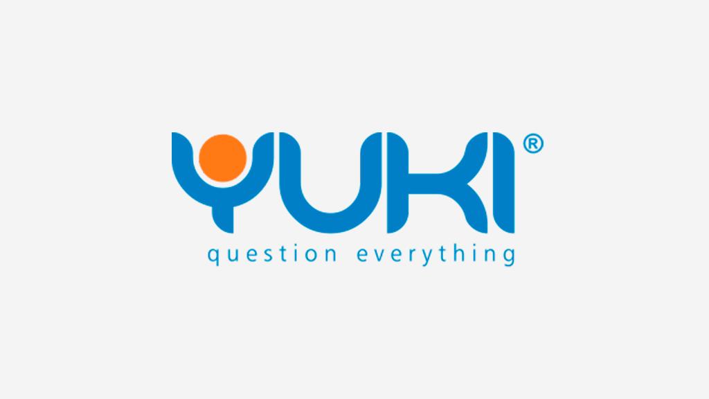 Logo da empresa Yuki.