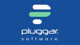 Logo da empresa Pluggar Software.