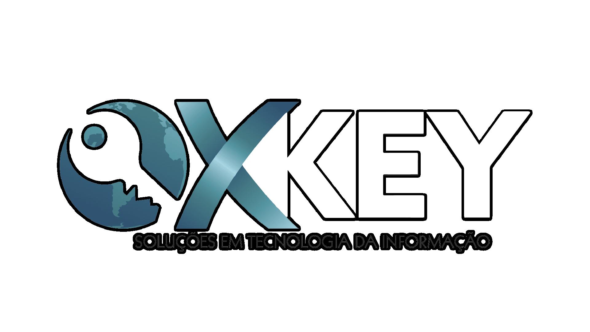 Logo da empresa XKey.