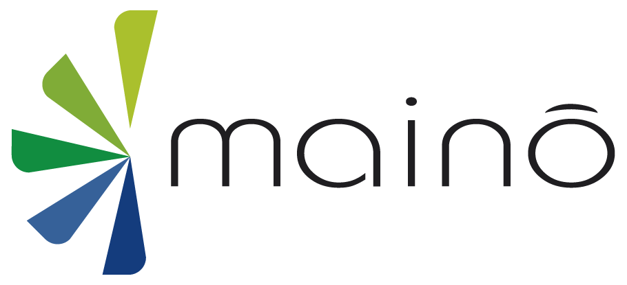 Logo da empresa Mainô.