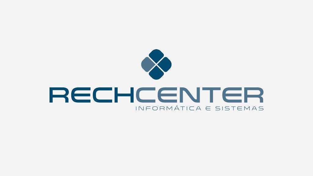 Logo da empresa Rech Center Informática e Sistemas.