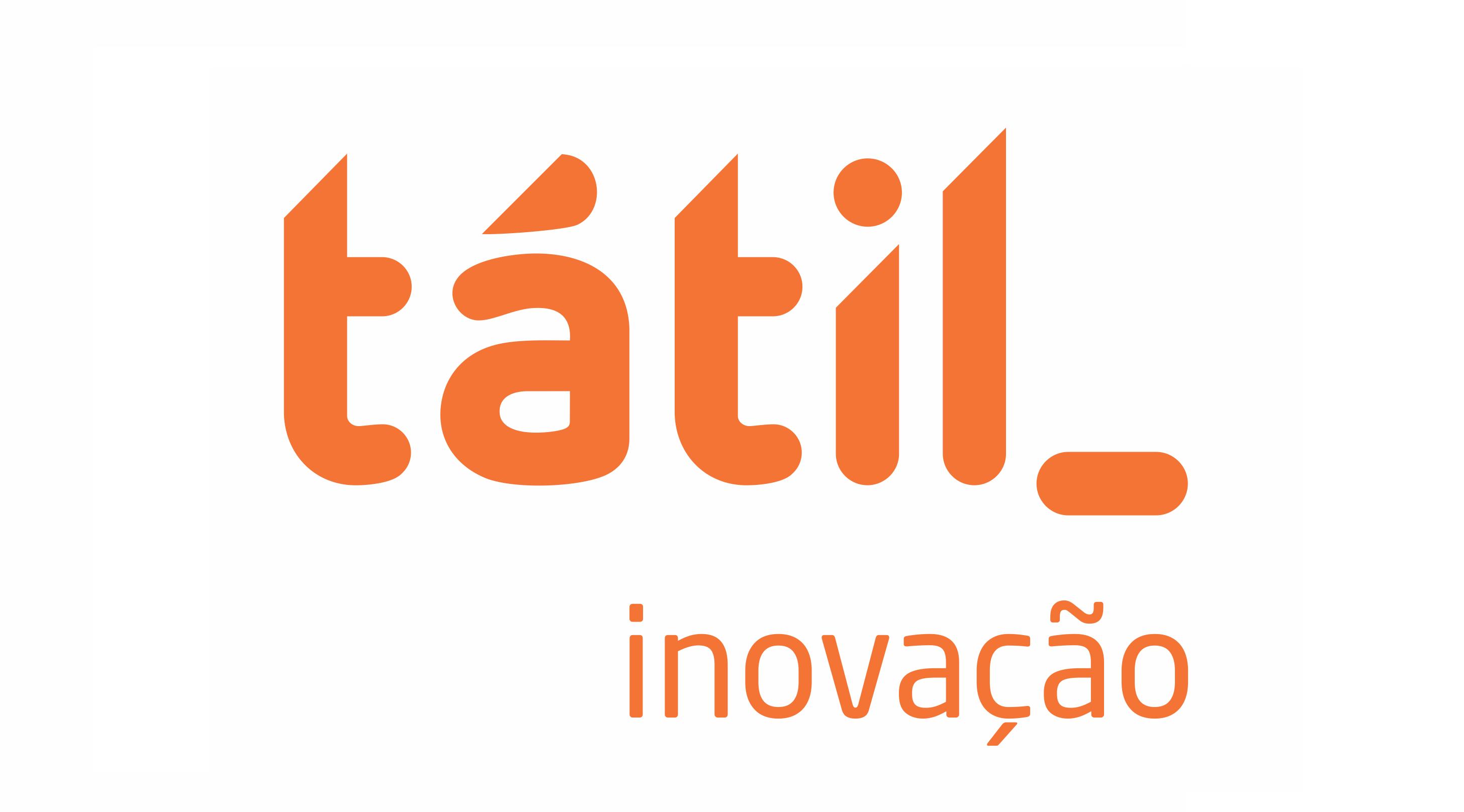 Logo da empresa Tátil Inovação e Tecnologia.