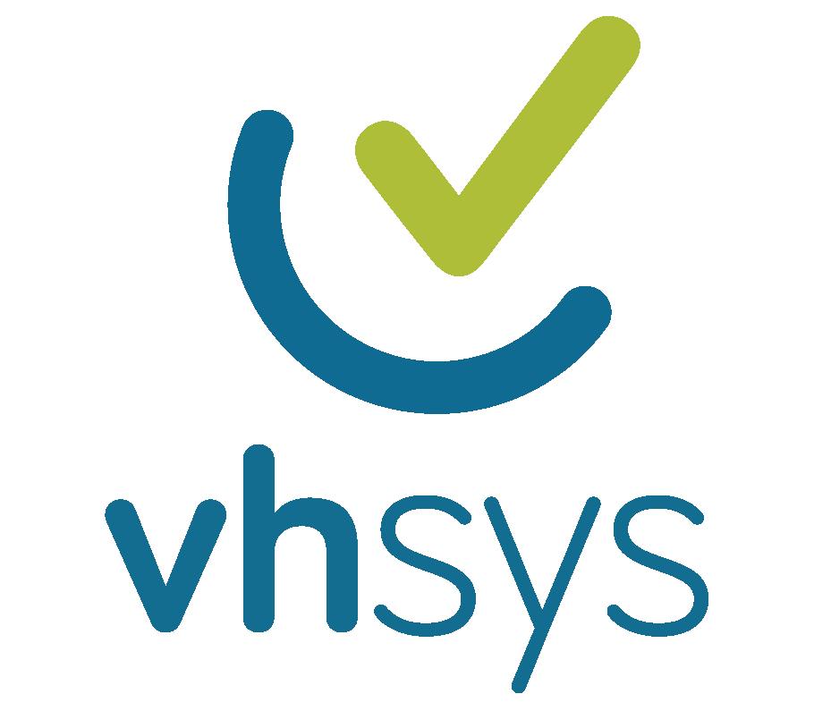 Logo da empresa VHSYS.
