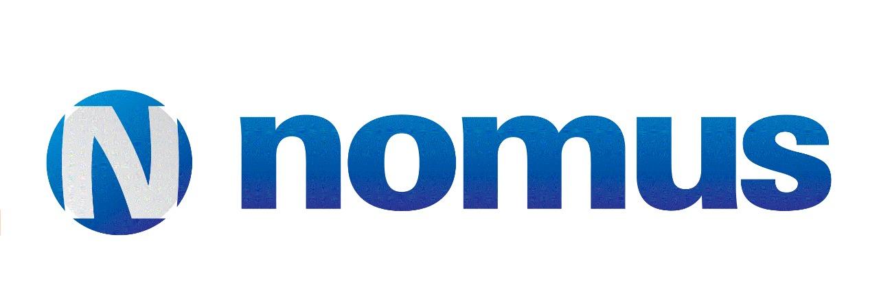 Logo da empresa Nomus.